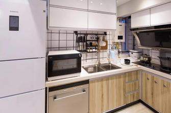经济型90平米北欧风格厨房设计图