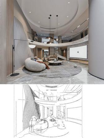 豪华型140平米别墅轻奢风格影音室设计图
