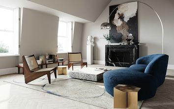 豪华型140平米三室一厅日式风格客厅装修效果图