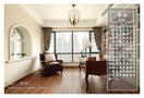 豪华型140平米四美式风格书房图片