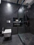80平米公寓港式风格卫生间效果图