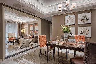 10-15万120平米三室两厅美式风格餐厅欣赏图