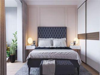 120平米三室一厅美式风格卧室设计图