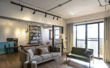 15-20万140平米三室一厅工业风风格客厅设计图