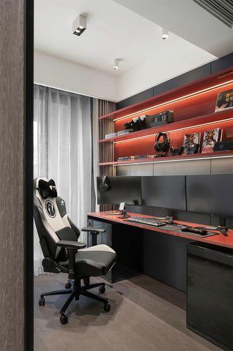 富裕型120平米三室两厅混搭风格影音室装修案例