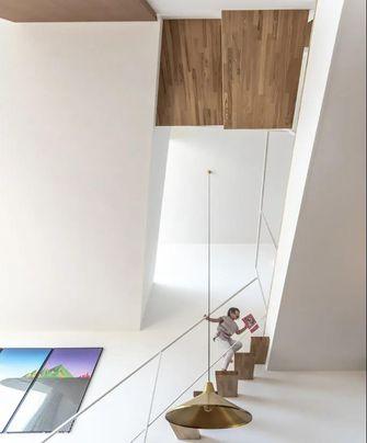 富裕型140平米别墅现代简约风格楼梯间图