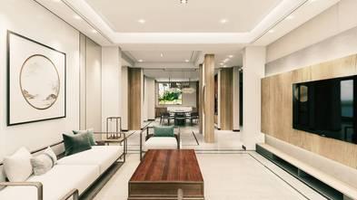 豪华型140平米四室三厅中式风格客厅图片大全