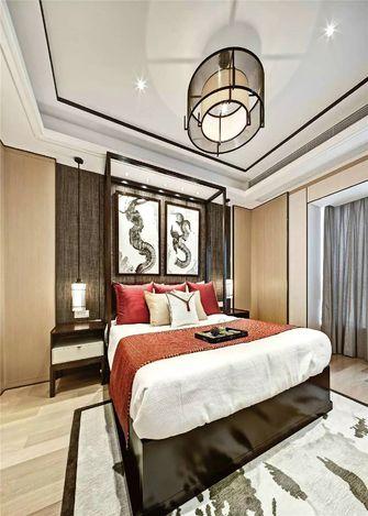 20万以上110平米三室一厅中式风格卧室装修图片大全