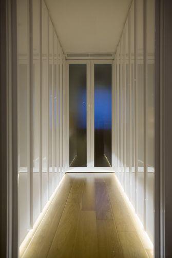 120平米复式混搭风格客厅装修图片大全