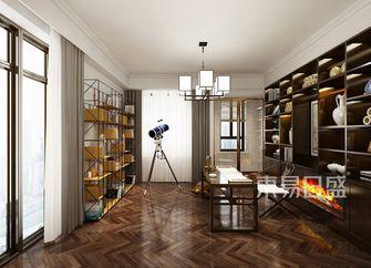 20万以上140平米别墅现代简约风格书房图片大全