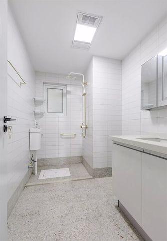 富裕型130平米三室两厅田园风格卫生间装修效果图