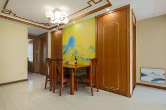 富裕型80平米中式风格餐厅图片
