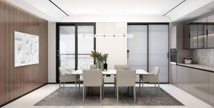 3万以下140平米复式现代简约风格餐厅设计图