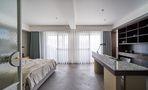 20万以上140平米三室一厅工业风风格卧室图片大全