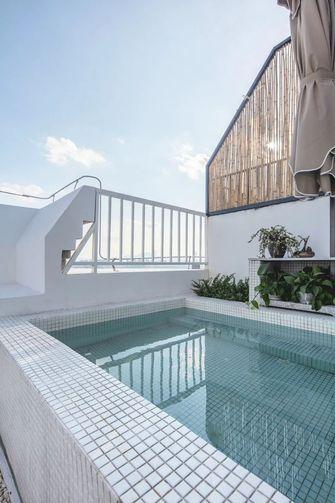 140平米复式中式风格阳台图片