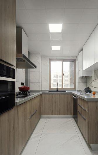 富裕型140平米三现代简约风格厨房效果图