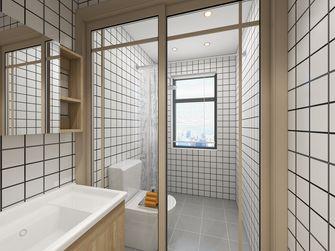 富裕型110平米三室两厅日式风格卫生间图片大全