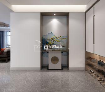 富裕型140平米三室两厅中式风格玄关图