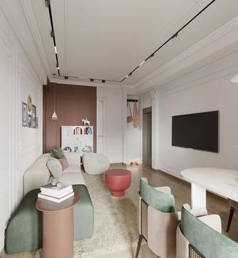15-20万60平米法式风格客厅装修效果图