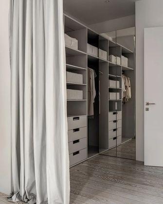 10-15万120平米三室一厅现代简约风格衣帽间欣赏图