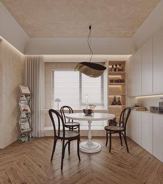 20万以上60平米日式风格餐厅设计图