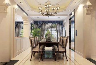 20万以上140平米别墅欧式风格餐厅图