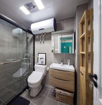 富裕型110平米三室一厅现代简约风格卫生间欣赏图