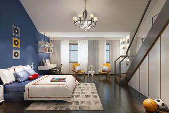 20万以上140平米三室两厅轻奢风格青少年房图片
