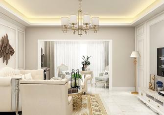 10-15万110平米三室两厅法式风格客厅欣赏图