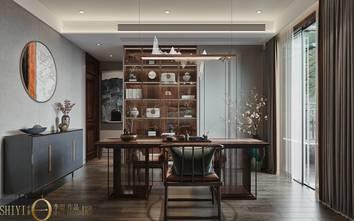 豪华型140平米别墅轻奢风格书房欣赏图