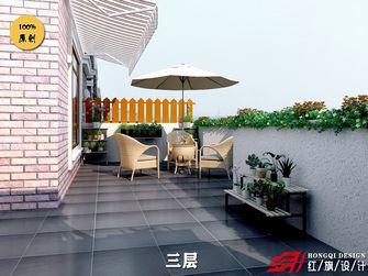 豪华型140平米别墅混搭风格阳台装修案例