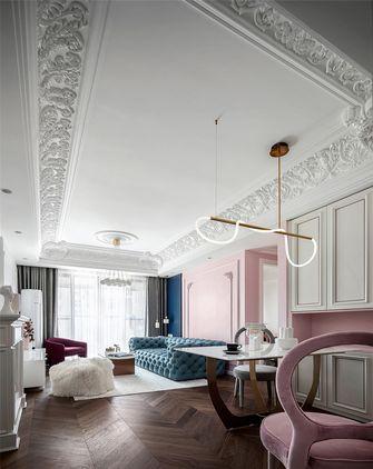 豪华型120平米三室三厅法式风格餐厅装修效果图