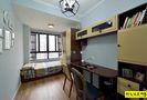 经济型100平米三室两厅美式风格书房装修案例