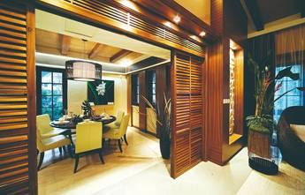 140平米中式风格餐厅装修图片大全