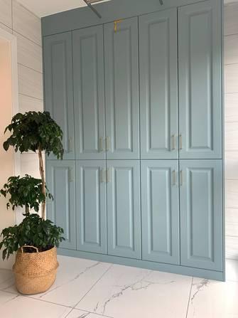 富裕型110平米三室一厅田园风格阳台装修效果图