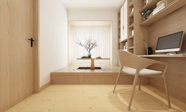 120平米三日式风格书房设计图