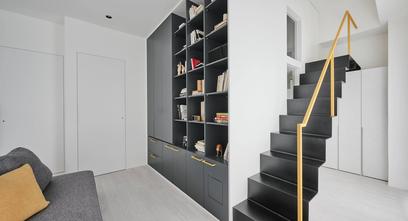 140平米复式东南亚风格楼梯间效果图