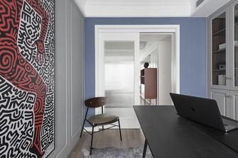 5-10万120平米三室两厅美式风格书房图片