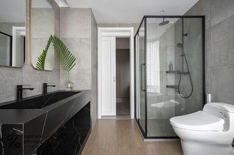 140平米三室两厅田园风格卫生间装修案例