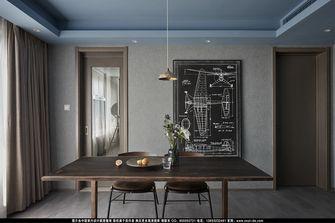 20万以上140平米三室一厅工业风风格餐厅图