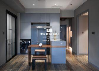 80平米公寓港式风格餐厅效果图