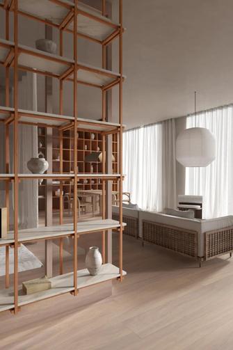140平米日式风格书房装修图片大全
