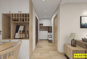 富裕型110平米三室两厅日式风格玄关图片大全