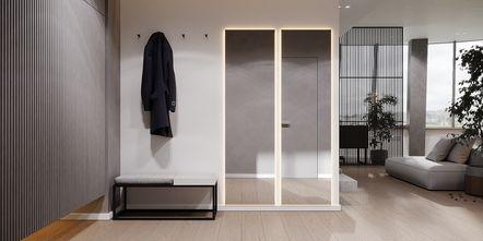 20万以上110平米三室两厅现代简约风格玄关图片