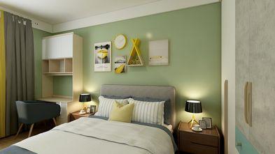 富裕型120平米四室两厅北欧风格卧室图片大全