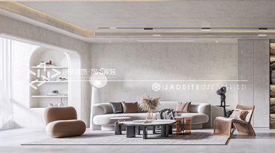 140平米四室两厅工业风风格客厅设计图