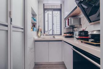 经济型90平米田园风格厨房效果图