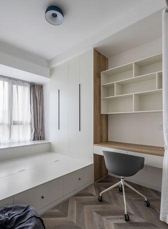 富裕型120平米三室两厅北欧风格书房图片大全