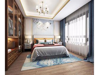 富裕型120平米三室两厅中式风格卧室图片