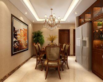豪华型140平米三室两厅欧式风格餐厅效果图